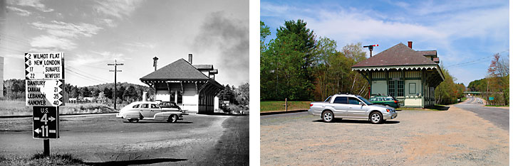Andover, New Hampshire, New Hampshire Then and Now, Peter Randall
